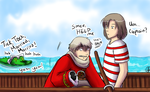 Tick, Tock, Croc - Hetalia by TriaElf9