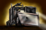 Truck- Zombie Plow by Lady-ElitaOne