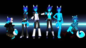Skiploid Pack MMD Download by Pokeluver223