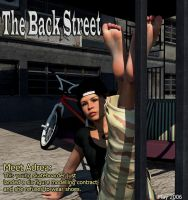 Adrea on the cover of Backstreet in 2006 by restif
