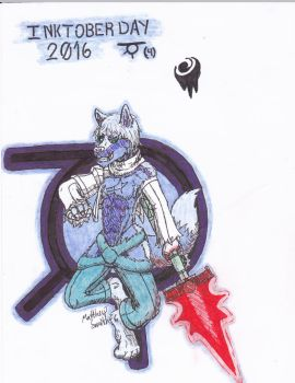Inktober 2016 Day 04 Negative Numbered Fuiro by ShadowEclipex