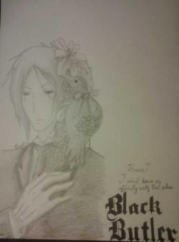 Black Butler: Sebastian Michaelis by couleur-du-ciel