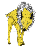 Simplistic Jolteon by cruel-fate