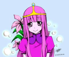 Princess bubblegum by Ryuukeru