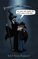 Sir Terry Pratchett by Ian-Summers