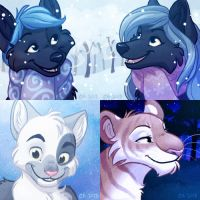 Icon Commissions Oct-November 2013 by autogatos