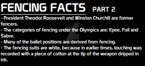 Fencing facts part 2 by 0-Acerlot-0