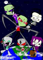 Invader Zim World by SonicSega1991