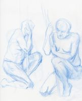 male model life drawing 3 by MATking