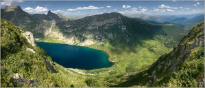 Lake Golden Panorama by box426