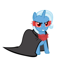 evil trixie by freak0uo