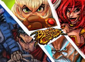 battle chasers WIP3 by shoze