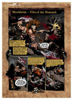 Mordheim - City of the Damned Comic, pg 1 by BraveSirKevin