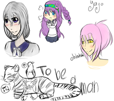 SC::Colored Sketch Dump...sorta by VictoriousUsagi