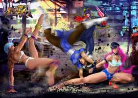 Ultra Street Fighter IV ..new challengers by Grapiqkad