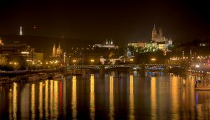 Prague by night III by vttiste