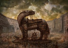 Trojan Horse by Keithwormwood