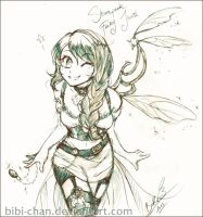 : Steampunk Fairy Juuri : by bibi-chan