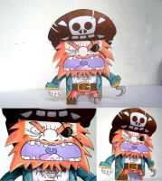 Paper pirate by CROMOU