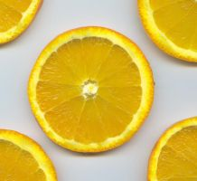 .:stock - sliced orange 5:. by guavon-stock