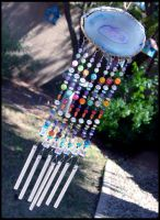 Agate Wind Chime by andromeda