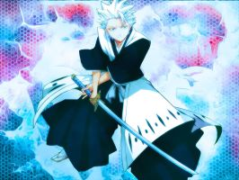 Hitsugaya-wallpaper by AgusholliD