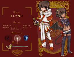 Dancing-Ashes: Flynn by Aogami