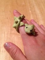 Dino Wraparound Ring by HollyKramer