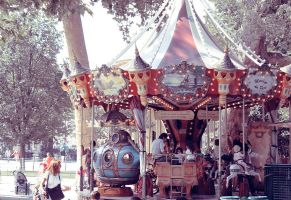 The Carousel by Ming-Shuw