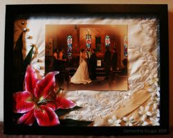 Wedding Shadow Box by Darksamu