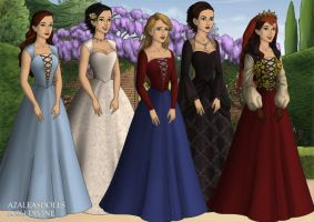 Once Upon A Time Ladies by KatePendragon
