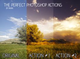 The Perfect Photoshop Actions by Hvan