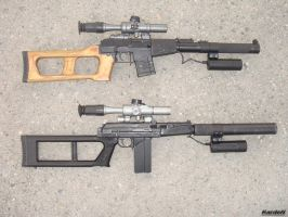 VSS_VSK-94 sniper rifles 2 by Garr1971
