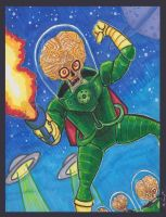 MARS ATTACKS Copic by phymns