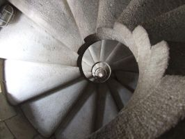 Gaudi Stairs by 7sns