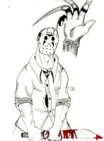 Jason Vs Freddy: tables turned by DeviantBoss