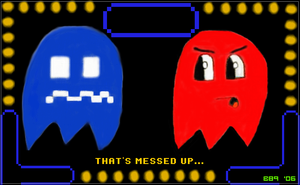 Pac-Man Ghosts by Bowser81889