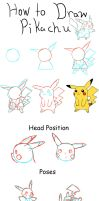 How to Draw Pikachu by PikaAly