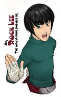 Ah, Rock Lee by yagi-sempai