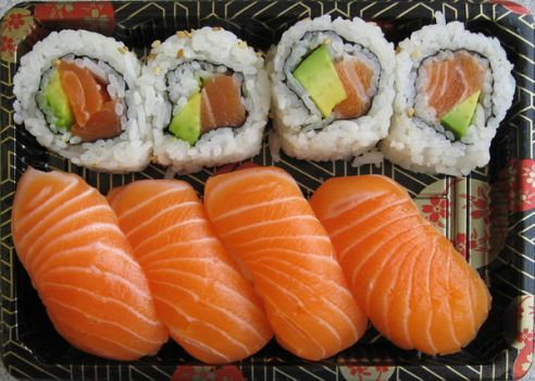 Sushi Lunch by HarrisGraber