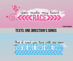 Textos de One Direction by Kataaheditions