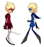 Homestuck - The Prince and The Rogue by abbic314