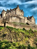 Edinburgh Castle by Asimakis
