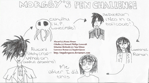 Morggy's Pen Challange by ImpalerQueen