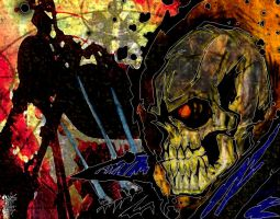 Ghost Rider Colored by DesadesMachine
