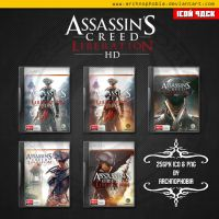 Assassins Creed: Liberation HD ICONS PACK by archnophobia