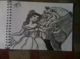 Beauty and the Beast by cehavard90