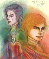 False Ackles Trinity by PledgeOfRoses