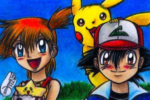 Say Cheeese by Ash-Misty-Pikachu