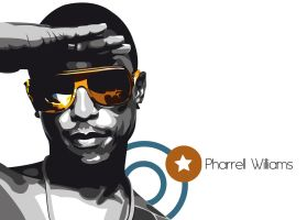 pharrell vector by xeonos